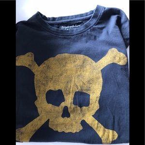 Wright & Ditson designer black shirt M